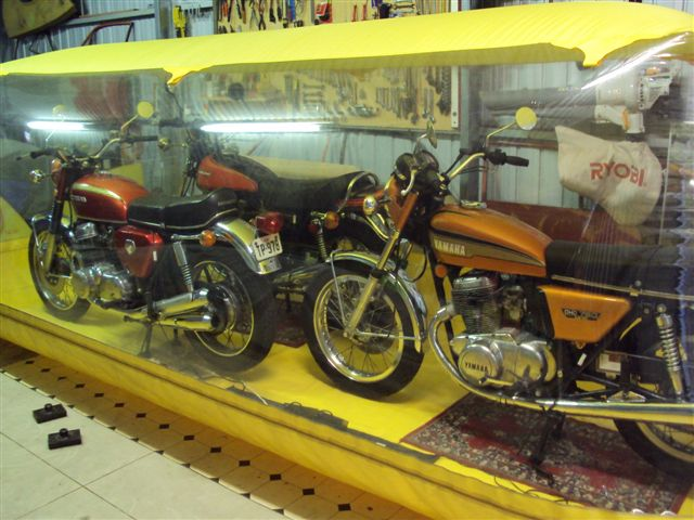Preserving a very nice Bike Collection