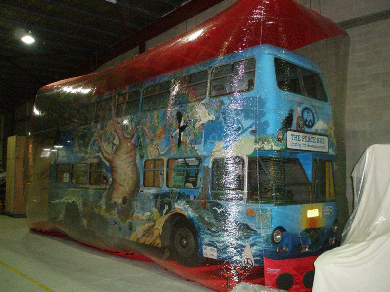 Custom Carcoon; Peace bus, National museum of Aust