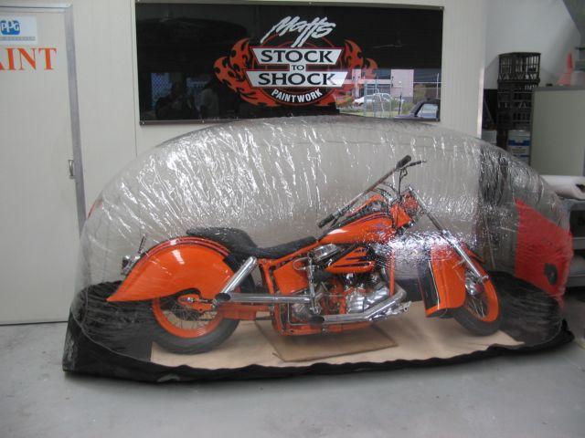 Custom over size Bike Bubble