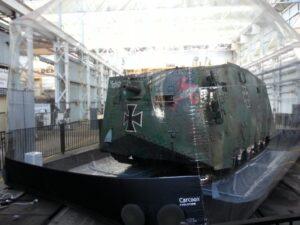 Qld Museum Mephisto WW1 Tank